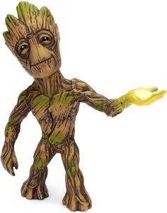 Figura de Groot de Guardianes de la galaxia de MetalS - Figuras coleccionables de Groot