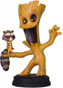 Figura de Groot y Rocket de Guardianes de la galaxia de Gentle Giant - Figuras coleccionables de Groot