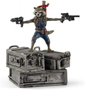 Figura de Groot y Rocket de Guardianes de la galaxia de Schleich - Figuras coleccionables de Groot