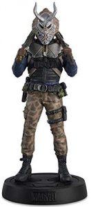 Figura de Killmonger con máscara de Eaglemoss - Figuras coleccionables de Killmonger de Black Panther - Pantera Negra