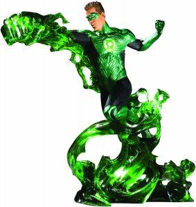 Figura de Linterna Verde de DC Premium- Figuras coleccionables de Linterna Verde