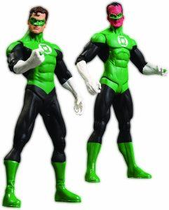 Figura de Linterna Verde de Sinestro y Hal Jordan de Green Lantern Rebirth Collectors - Figuras coleccionables de Linterna Verde