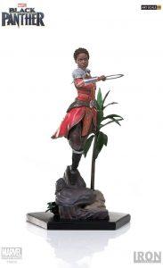 Figura de Nakia de Civil War de Iron Studios - Figuras coleccionables de Black Panther - Pantera Negra