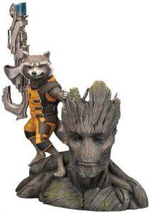 Figura de Rocket Racoon de Guardianes de la galaxia de Kotobukiya - Figuras coleccionables de Rocket Racoon