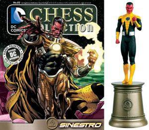 Figura de Sinestro de Eaglemoss - Figuras coleccionables de Sinestro