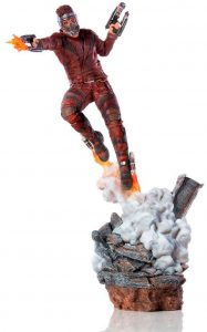 Figura de Star Lord de Guardianes de la galaxia de Iron Studios - Figuras coleccionables de Star Lord