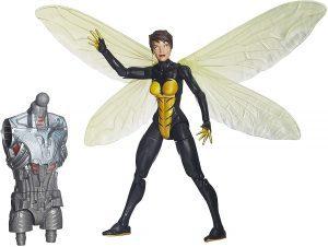 Figura de la Avispa de Marvel Legends Infinite Series - Figuras coleccionables de The Wasp - La Avispa