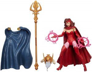 Figura de la Bruja Escarlata de los X-Men de Marvel Legends Infinite Series - Figuras coleccionables de la Bruja Escarlata