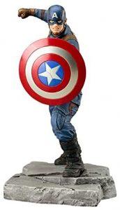 Figura del Capitán América de Civil War de Kotobukiya - Figuras coleccionables del Capitán América