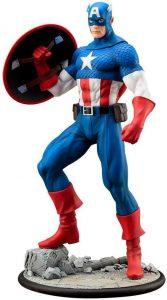 Figura del Capitán América de Marvel Cómics - Figuras coleccionables del Capitán América