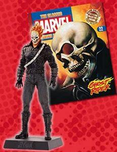 Figura del Motorista Fantasma de Eaglemoss - Figuras coleccionables de Ghost Rider - El motorista fantasma