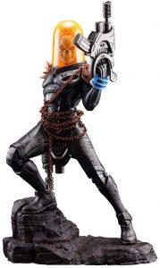 Figura del Motorista Fantasma de Kotobukiya - Figuras coleccionables de Ghost Rider - El motorista fantasma