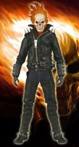 Figura del Motorista Fantasma de Medicom - Figuras coleccionables de Ghost Rider - El motorista fantasma