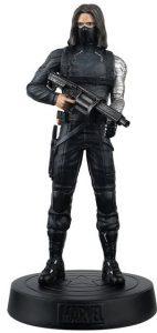 Figura del Soldado de Invierno Bucky Barnes de Eaglemoss figura- Figuras coleccionables del Soldado de Invierno - The Winter Soldier