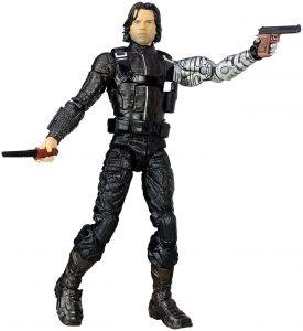 Figura del Soldado de Invierno Bucky Barnes de Hasbro Legends 2 - Figuras coleccionables del Soldado de Invierno - The Winter Soldier