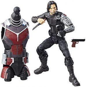 Figura del Soldado de Invierno Bucky Barnes de Hasbro Legends - Figuras coleccionables del Soldado de Invierno - The Winter Soldier