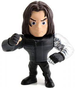 Figura del Soldado de Invierno Bucky Barnes de Metals - Figuras coleccionables del Soldado de Invierno - The Winter Soldier