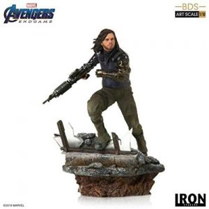 Figura del Soldado de Invierno Bucky Barnes en End Game de Iron Studios - Figuras coleccionables del Soldado de Invierno - The Winter Soldier