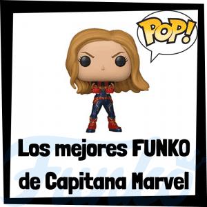 Figuras FUNKO POP de Capitana Marvel - Funko POP de Captain Marvel de Carol Danvers