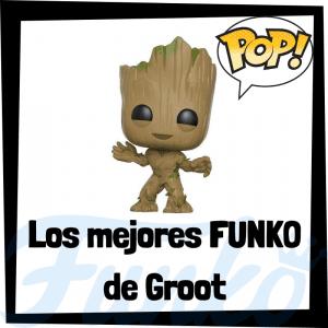 Figuras FUNKO POP de Groot - Funko POP de Groot de los Guardianes de la Galaxia