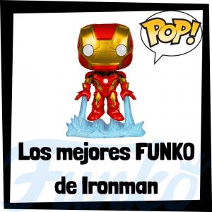 Figuras FUNKO POP de Iron Man - Funko POP de Ironman