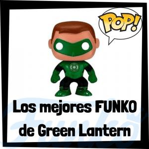 Figuras FUNKO POP de Linterna Verde - Funko POP de Green Lantern de Hal Jordan