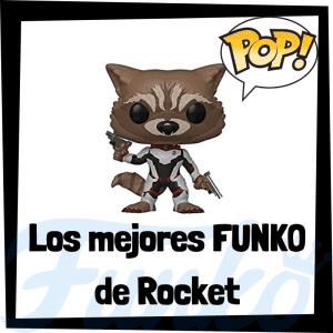Figuras FUNKO POP de Rocket Racoon - Funko POP de Rocket Racoon de los Guardianes de la Galaxia