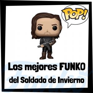 Figuras FUNKO POP del Soldado de Invierno de Bucky Barnes - Funko POP de Winter Soldier