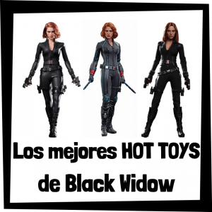 Figuras Hot Toys de Black Widow Viuda Negra - Hot Toys de figuras de colección de Black Widow Viuda Negra