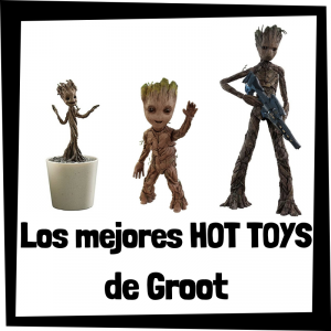 Hot Toys de Groot de los Guardianes de la Galaxia