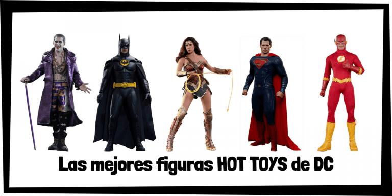 Figuras coleccionables HOT TOYS de personajes de DC - Figuras HOT TOYS de colección de DC de personajes y superhéroes