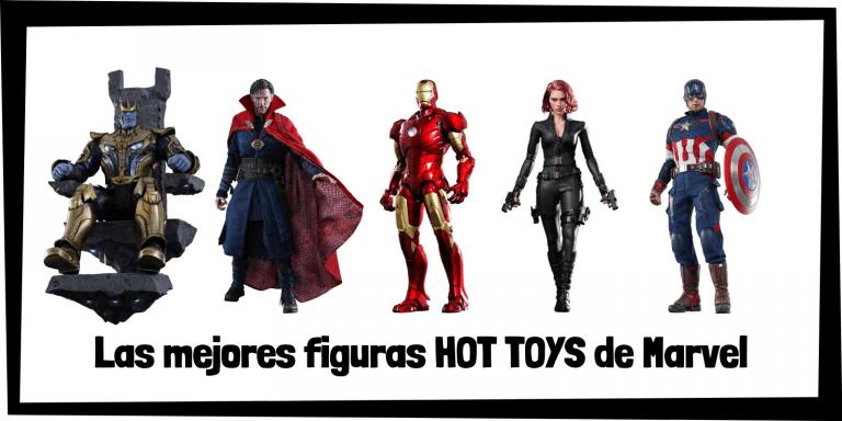 Figuras coleccionables HOT TOYS de personajes de Marvel - Figuras HOT TOYS de colección de Marvel de personajes y superhéroes