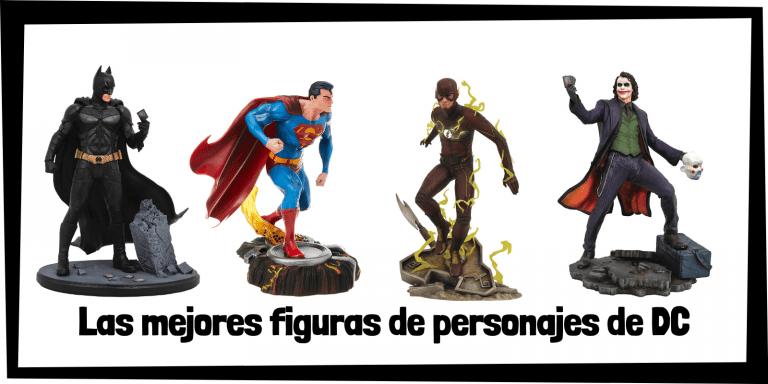 Figuras coleccionables de personajes de DC- Figuras de colección de DC de personajes y superhéroes
