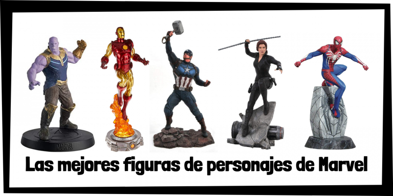 Figuras coleccionables de personajes de Marvel - Figuras de colección de Marvel de personajes y superhéroes