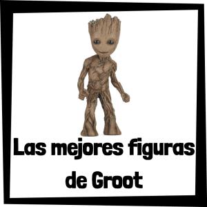 Figuras de Groot de los Guardianes de la Galaxia