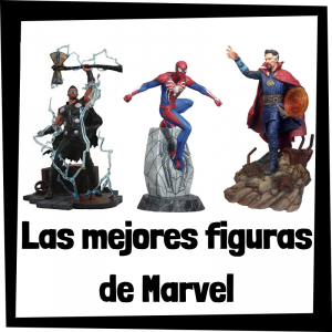 Figuras coleccionables de personajes de Marvel