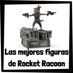 Figuras de Rocket Racoon de los Guardianes de la Galaxia
