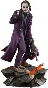 Hot Toys Sideshow de Joker de Heath Ledger del Caballero Oscuro - Los mejores Hot Toys del Joker - Figuras coleccionables del Joker