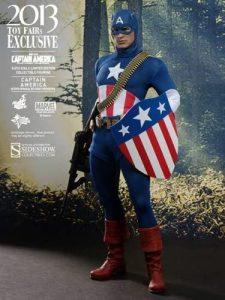 Hot Toys Sideshow del Capitán América el Primer Vengador - Los mejores Hot Toys del Capitán América - Figuras coleccionables del Capitán América