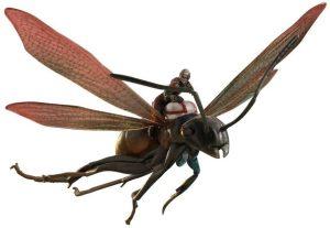 Hot Toys de Ant man sobre hormiga voladora - Los mejores Hot Toys de Ant man - Figuras coleccionables de Antman