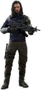 Hot Toys de Bucky Barnes del Soldado de Invierno - Los mejores Hot Toys de The Winter Soldier - Figuras coleccionables del Soldado de Invierno