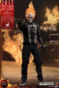 Hot Toys de Ghost Rider de Agentes de Shield - Los mejores Hot Toys del Motorista Fantasma - Figuras coleccionables de Ghost Rider