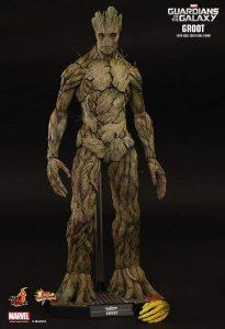 Hot Toys de Groot de Guardianes de la Galaxia Volumen 1 - Los mejores Hot Toys de Groot - Figuras coleccionables de Guardianes de la Galaxia