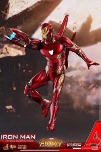 Hot Toys de Iron Man Mark 50 Infinity War - Los mejores Hot Toys de Iron Man - Figuras coleccionables de Ironman