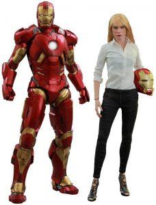 Hot Toys de Iron Man y Pepper Potts - Los mejores Hot Toys de Iron Man - Figuras coleccionables de Ironman