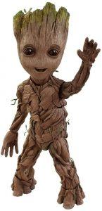 Hot Toys de Mini Groot de Guardianes de la Galaxia Volumen 2 - Los mejores Hot Toys de Groot - Figuras coleccionables de Guardianes de la Galaxia