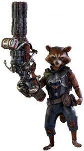 Hot Toys de Rocket Racoon de Guardianes de la Galaxia Volumen 2 - Los mejores Hot Toys de Rocket Racoon - Figuras coleccionables de Guardianes de la Galaxia