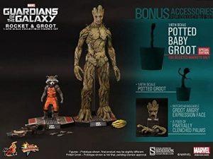 Hot Toys de Rocket Racoon y Groot de Guardianes de la Galaxia - Los mejores Hot Toys de Rocket Racoon - Figuras coleccionables de Guardianes de la Galaxia