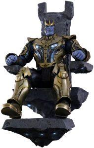 Hot Toys de Thanos en el trono en Guardianes de la Galaxia - Los mejores Hot Toys de Thanos - Figuras coleccionables de Thanos