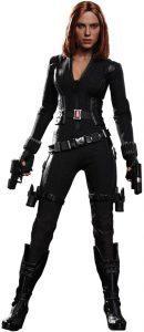 Hot Toys de Viuda Negra - Black Widow - en Capitán América el Soldado de Invierno - Los mejores Hot Toys de Black Widow - Figuras coleccionables de la Viuda Negra